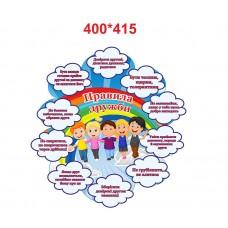 Правила дружби - стенд для початкової школи та дитячого садка